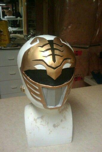 Diy power ranger helmet!