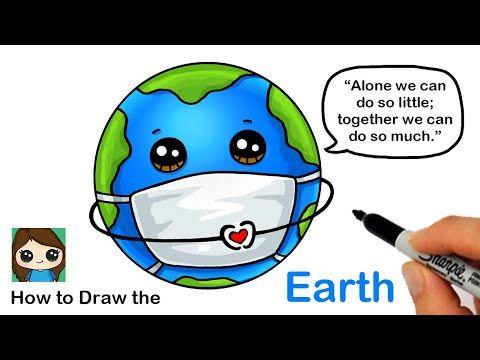 Pin By Erika Lizbeth On Draw So Cute In 2020 Cute Cartoon Drawings Cute Drawings Earth Drawings