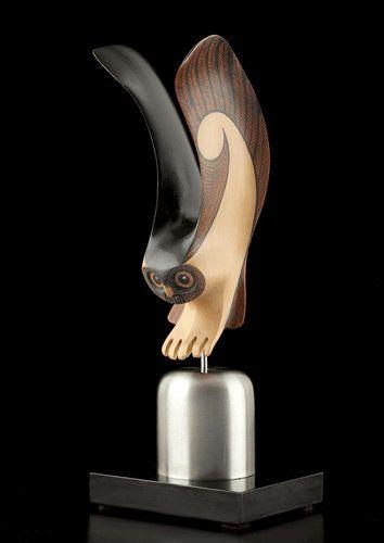 New Zealand Owl by Rex Homan: