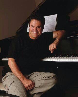 Donny Osmond.Donny was my first ever crush big time.Please check out my website thanks. www.photopix.co.nz