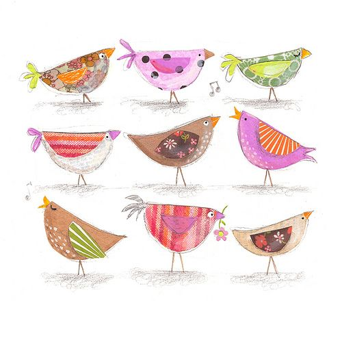 cute birdies