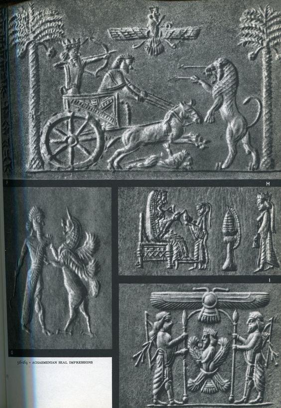 Cylinder Seal. Achaemenian.