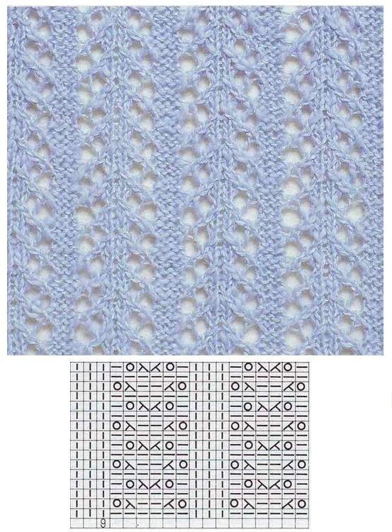 Lace Knitting Lochmuster Stricken Muster Stricken Socken Stricken Muster