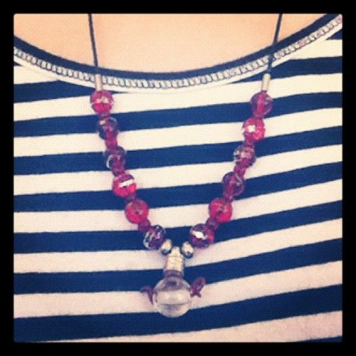 Got this rice necklace at the Apple Festival in Ellijay, GA, a couple of years ago.