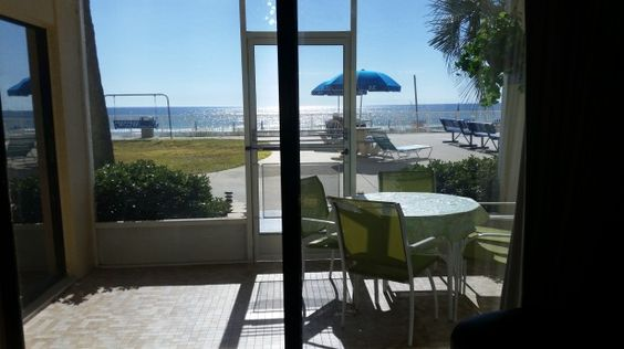 Large screened in patio with beautiful, unobstructed view.