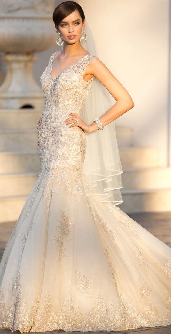 Vestidos de novia por Stella York Otoño 2014