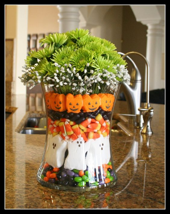 [cute for the Seasons of Ideas vase] Halloween decoration