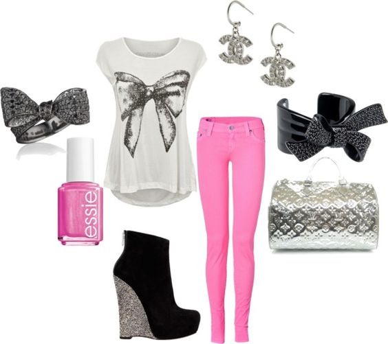 """Glambows"" by classyinpink on Polyvore"