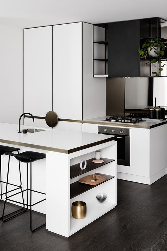 How To Create A Stunning Black And White Kitchen Or Bathroom
