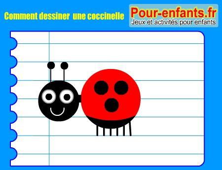 Apprendre dessiner une coccinelle comment dessiner une - Dessiner une coccinelle ...