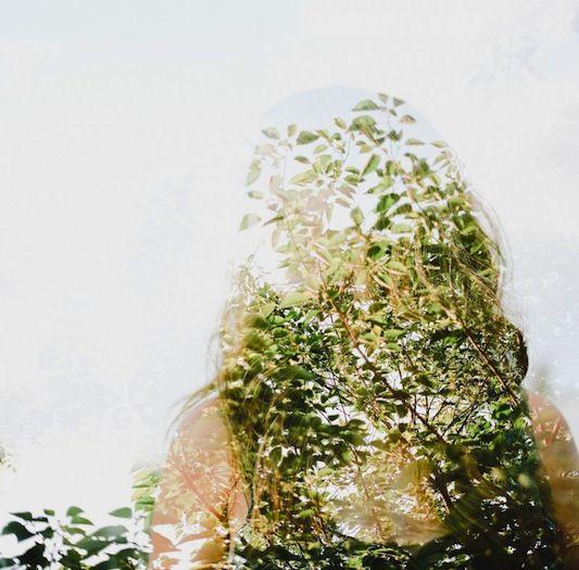 Earthy double exposure series by Portland based photographer, Jon Duenas.