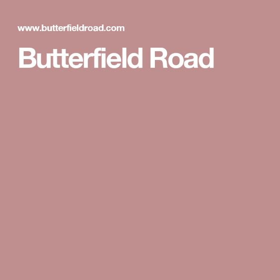 Butterfield Road