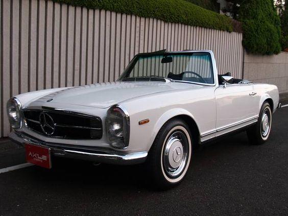 I also want this one.  メルセデス・ベンツ M・ベンツ 280SL ディーラー車 レストア済み | 中古車 輸入車 GooWORLD(グーワールド) | 【アクセルトレーディング】