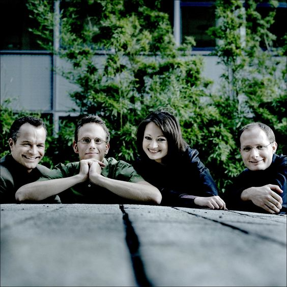 The Faure Quartett, winners of the Parkhouse Award in 2003.