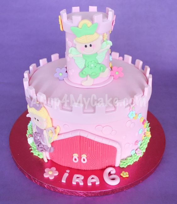 Little Fairy Castle Cake