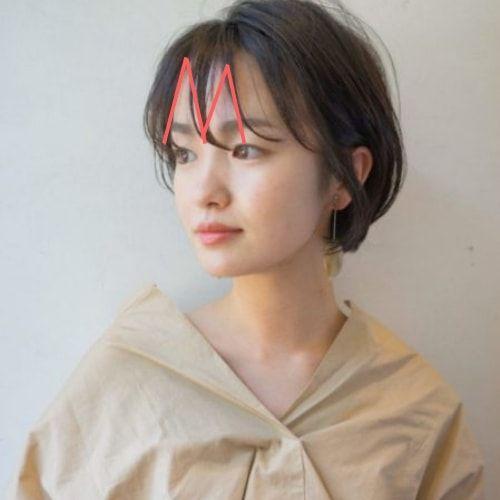 ショート 丸顔に似合う髪型 ヘアカタログ Lala Magazine ララ マガジン 丸顔 髪型 丸顔 前髪 ショートボブ 丸顔