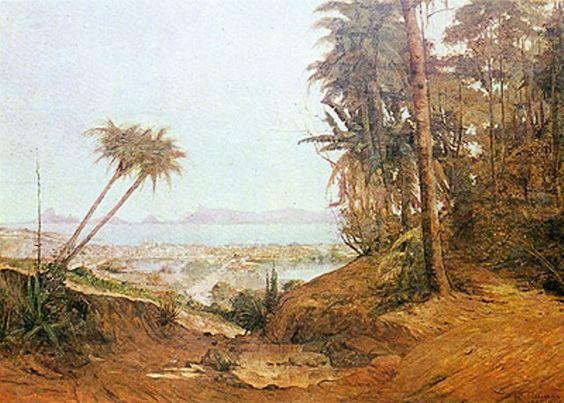 Antonio Parreiras – Panorama de Niterói – 1892