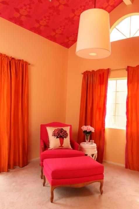 Pin On Remodels #red #and #orange #living #room
