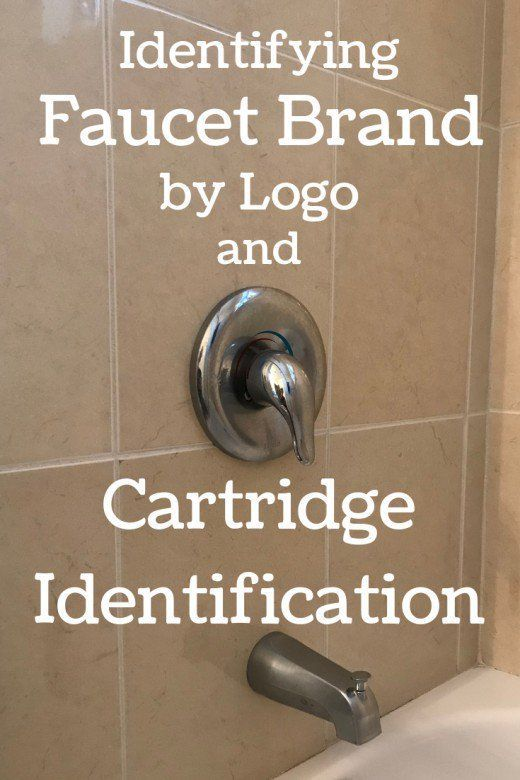 Identifying Your Shower Faucet Brand And Cartridge Manufacturer Shower Faucet Bathroom Faucets Faucet