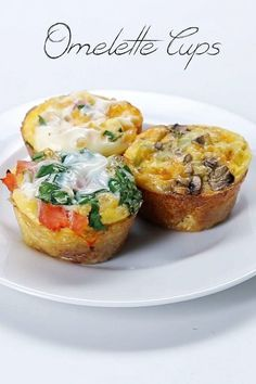 Omelette Cups   41 Tasty Breakfast & Brunch Ideas To Save For Later  See more http://recipesheaven.com/paleo