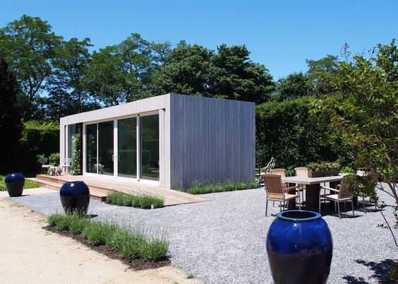this modern micro home has been created by cocoon9 an american company based in new