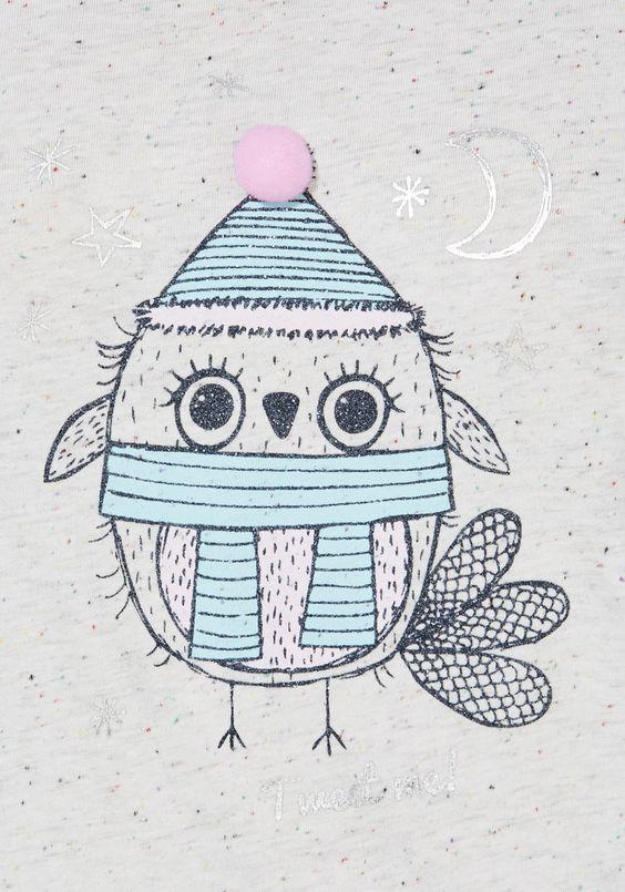 Clothing at Tesco | F&F Owl Pyjamas > nightwear > Nightwear ...