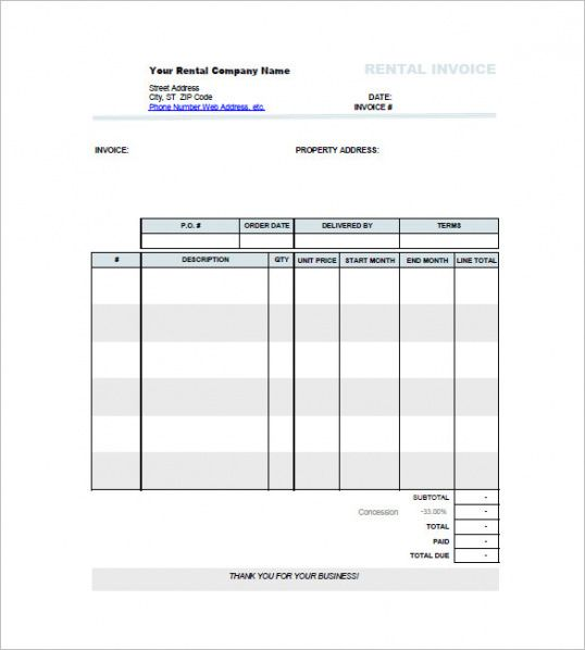 Browse Our Example Of Car Rental Billing Invoice Template For Free Invoice Template Invoice Template Word Receipt Template