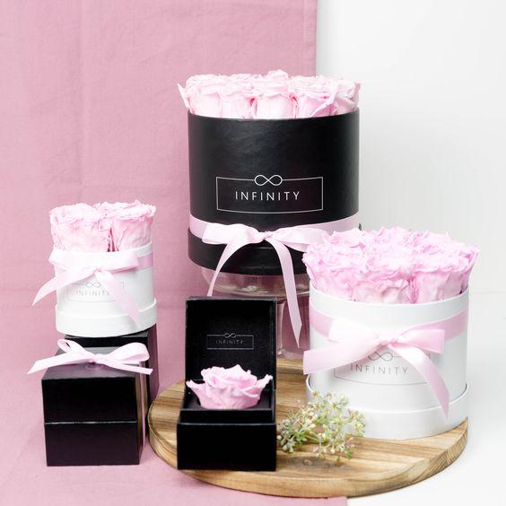 Langlebige-Rosen-Blumen-Valentinstag-Geschenke-Konservierte-Blumen-Infinity-Flowerbox