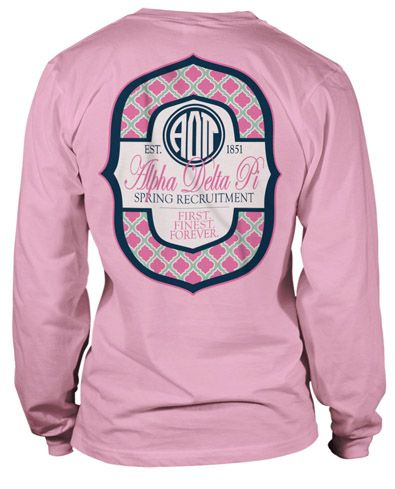Monogram styles monograms and phi mu on pinterest for Sorority t shirt design