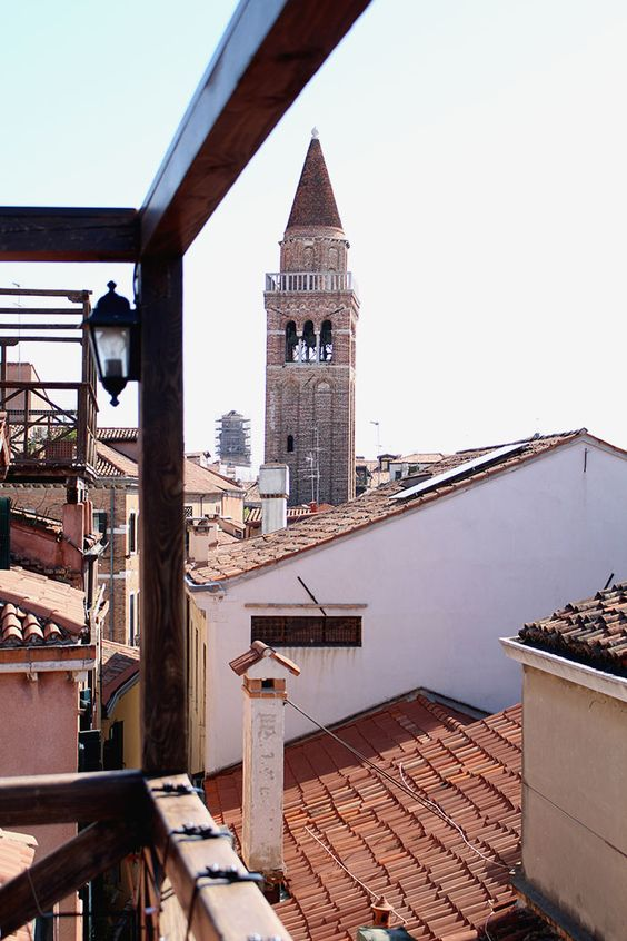 Where to stay: Venedig Hotel Ca' San Polo - Ausblick von der Dachterasse