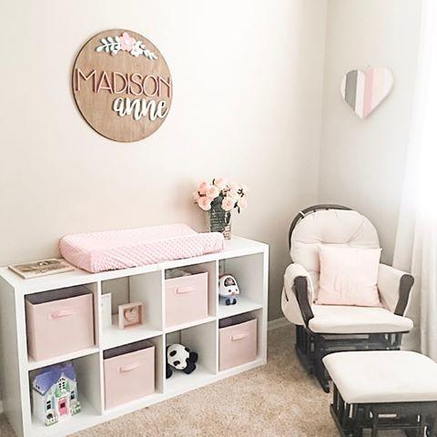 Wooden Sign Nursery Decor Inspiration Baby