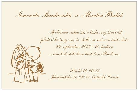 svadobné pozvánky - Hľadať Googlom