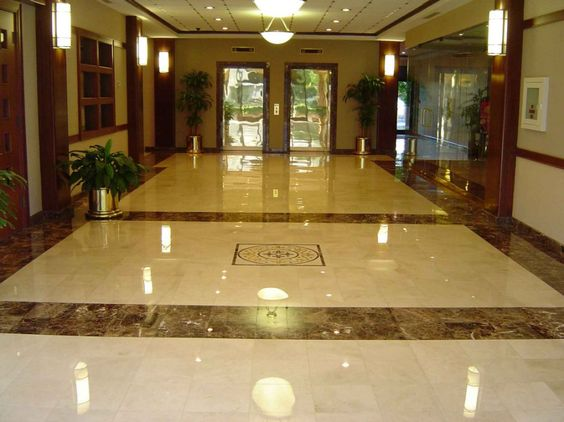 Beautiful living room tile marble floor design for for Tiled living room floor designs