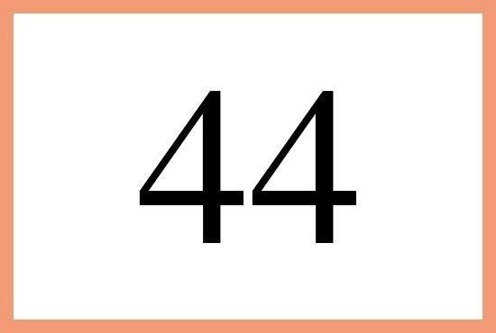 エンジェルナンバー44の意味は 天使のサポート です More Than Ever エンジェル ナンバー エンジェル 天使