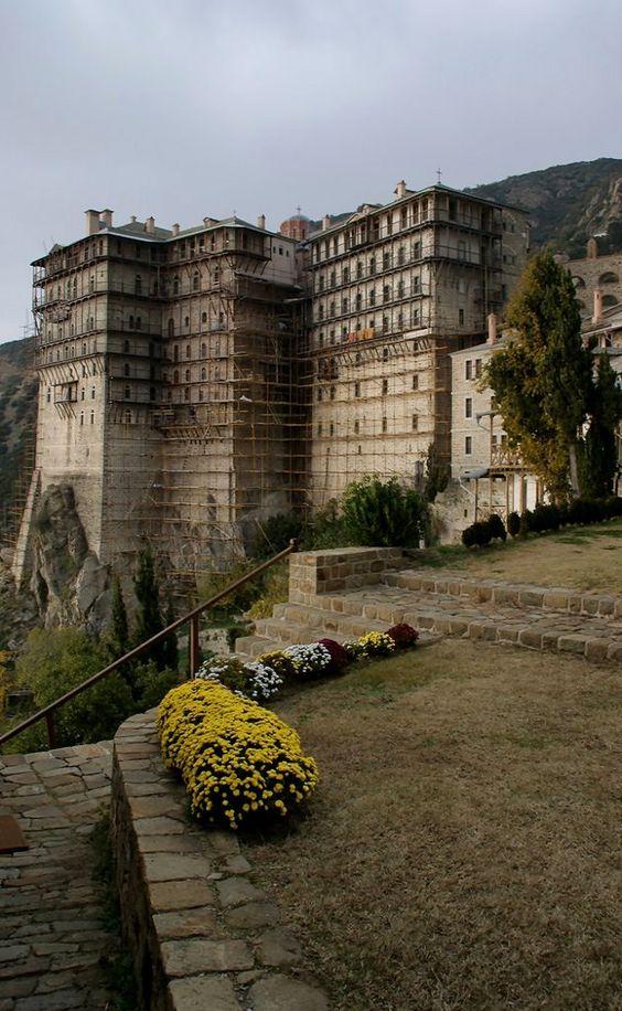 Monastery of Simonopetra, Mount Athos, Greece   by ΒΦ photography