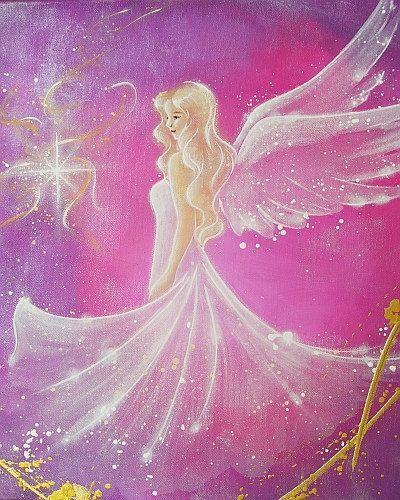 Limited angel art photo trust modern angel door HenriettesART