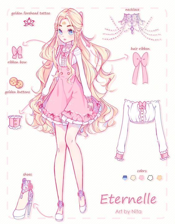CM | Eternelle Ref. Sheet by Nita--Chan.deviantart.com on @DeviantArt