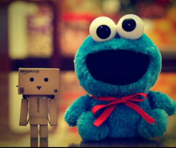 Cookie monster cute