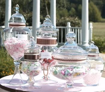 Candy Buffet Jars Vases Wholesale Wedding Supplies Discount Favors Party