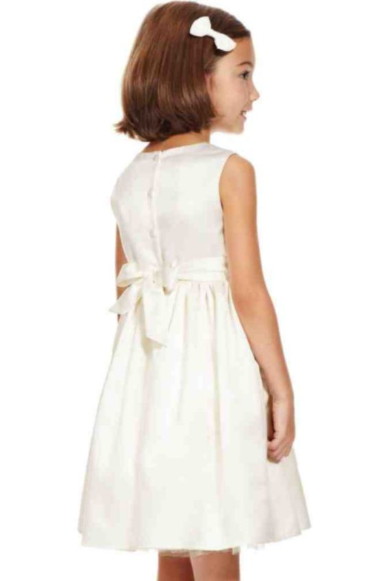 M&S flower girl dress ( back)