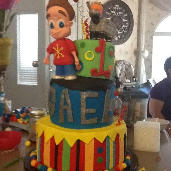 Jimmy neutron cake