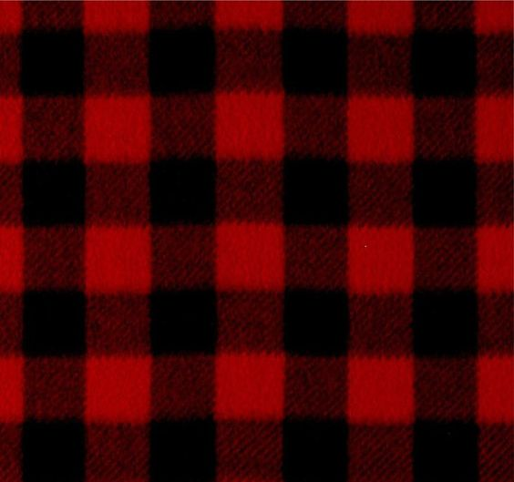 One Blackout Lined Flannel Buffalo Plaid Drapery Curtain