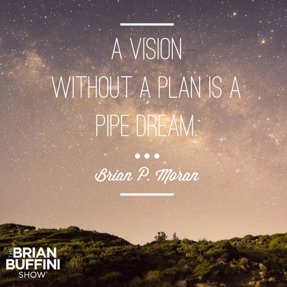 Great Business Quotes Vision: Does Your Vision Have A Plan? Learn How That Can Make All