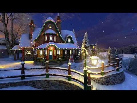White Christmas Music 2020 White Christmas 3D (4K)   YouTube in 2020 | White christmas