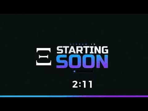 Stream Starting Soon Free Template Hnm Editing Youtube Youtube Banner Design Template Free Youtube Logo