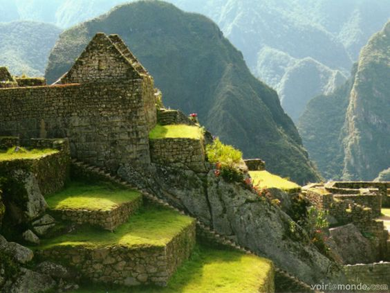 Machu Picchu - can you say pointy lama hat?