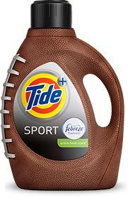 Is Brown A Good Color For A Detergent Tide Plus Febreze Sport
