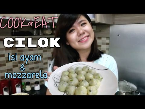 Cook Eat Cilok Mudah Gampang With Neng Eli Youtube Cooking Eat Halloween Fruit Tray