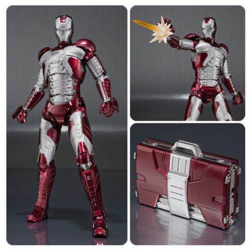 IRON MAN Mark II /& Hall of Armor Set S.H Figuarts Action Figure Bandai
