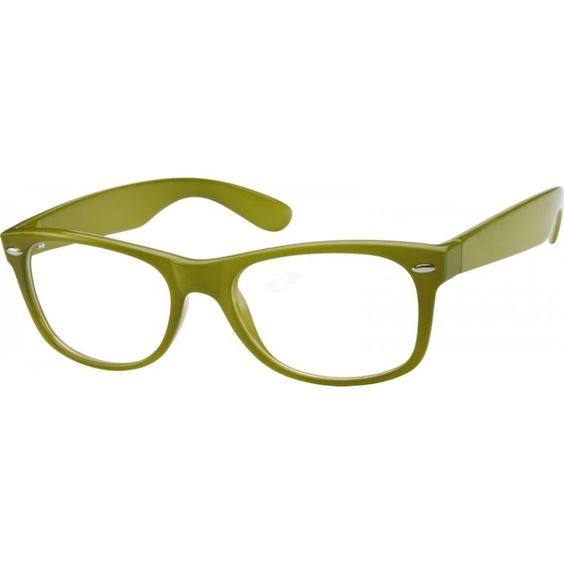 Green. Bifocal. Tinted sunglasses. $15